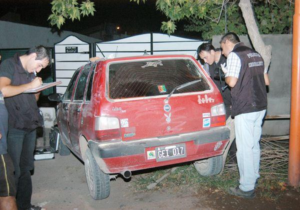 Chocaron a dos autos y un patrullero durante huida