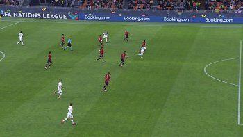 Ibai mufó a España sin querer y estalló por el gol de Mbappé