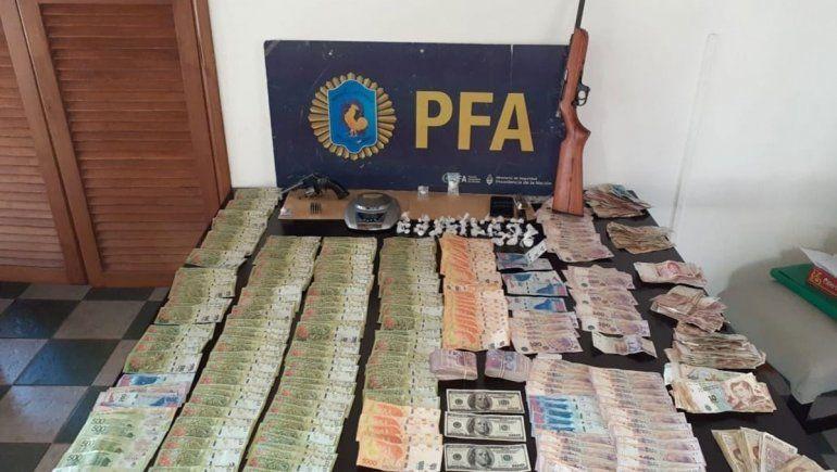 Un narco logró que le devolvieran los dólares incautados