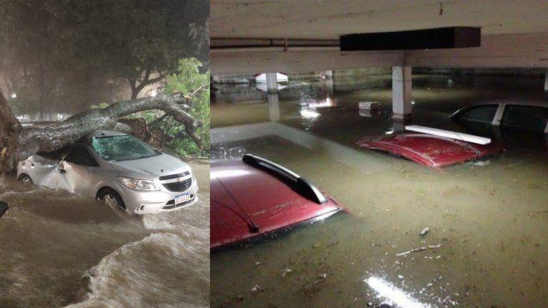 Tucumán bajo el agua: impactantes imágenes del temporal