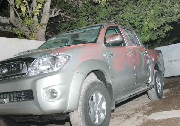 Secuestran auto y camioneta robados