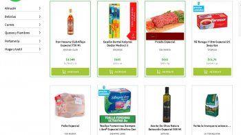 La Ley de Góndolas llegó a las tiendas virtuales de supermercados