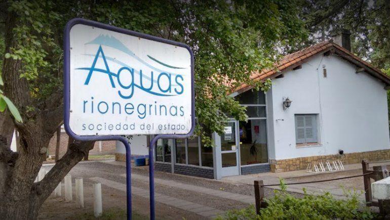 La sede cipoleña de Aguas Rionegrinas permanecerá cerrada hasta el lunes
