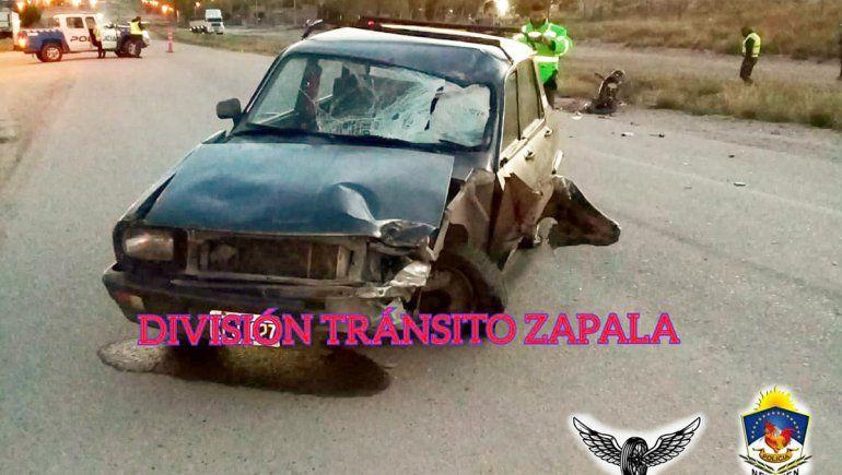 En el trágico accidente intervinieron un Renault 12 y una moto de 110 centímetros cúbicos de cilindrada.