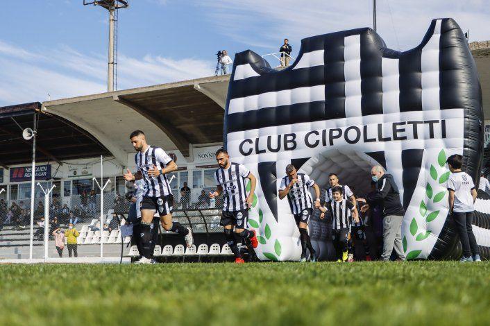 Cipolletti quiere volver a ganar y consolidar la localía: Hora y TV