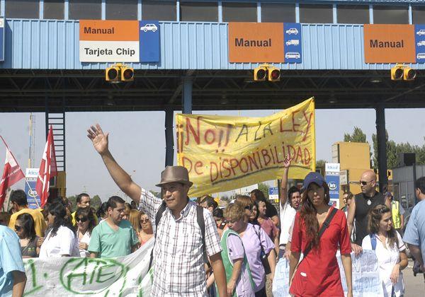 Nueva jornada de protesta de trabajadores de Salud