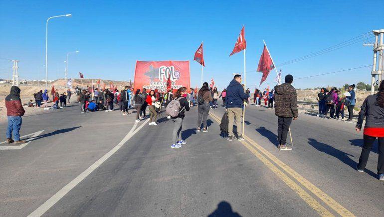 Terminó la protesta del FOL y levantaron los cortes en los puentes