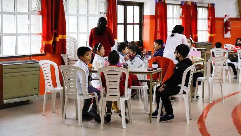 Vuelven a funcionar los comedores escolares en Río Negro