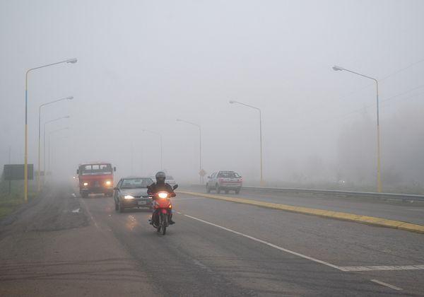 Jornada con niebla en la región
