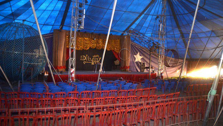 Un circo varado por la pandemia en Cipolletti