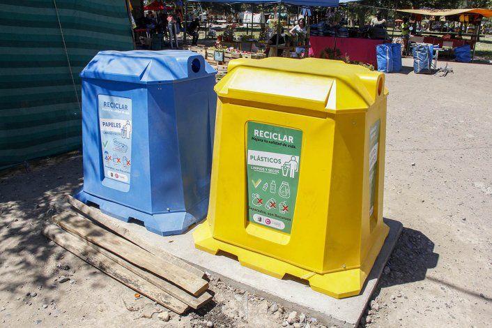 Instalarán más repositorios para residuos reciclables y contaminantes