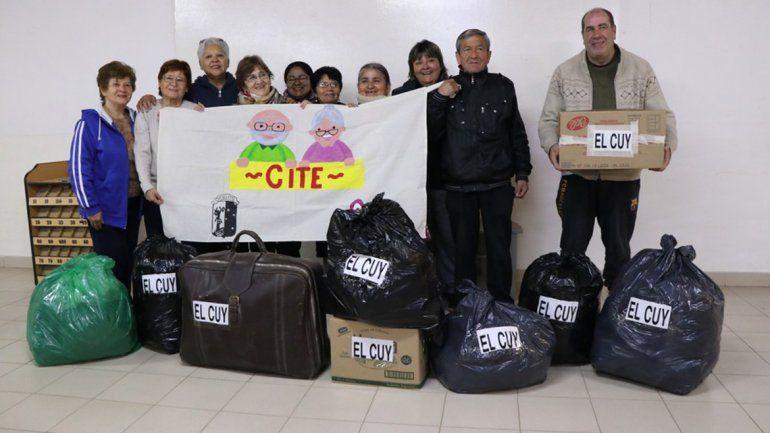 Una misión solidaria de abuelos cipoleños en El Cuy