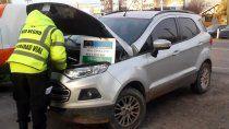 secuestraron camioneta con documentacion y patente trucha