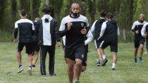 Cipolletti se entrena de cara a la reanudación.