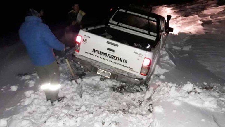 Rescate en la Línea Sur: sobrevivieron comiendo golosinas y derritiendo nieve
