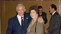 don bernardo sanchez, gendarme, y su esposa blanca cassataro, cantante valletana
