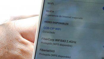 el municipio habilito 10 puntos de wifi gratis en la ciudad