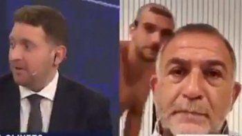 Los memes de la nota a Luis Juez con un joven desnudo que pasó por detrás