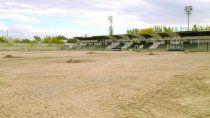 Las obras avanzan en el estadio La Visera de Cemento.