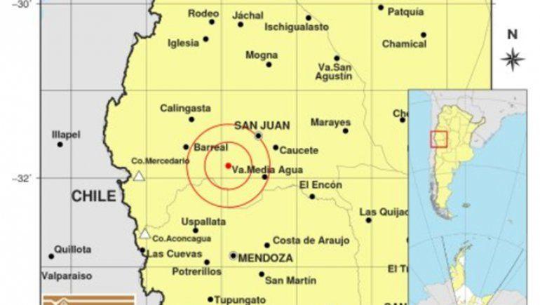 Alarma en San Juan por un sismo que se sintió en todo el centro del país