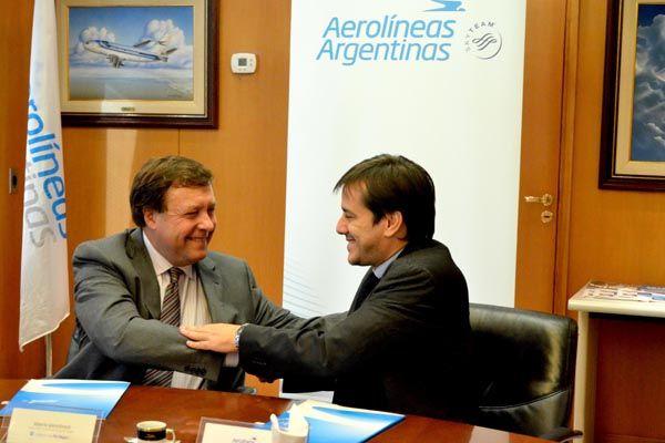 Acuerdo de Aerolíneas Argentinas con la provincia de Río Negro