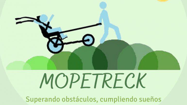 La empresa creada se llama Mopetreck, y el eslogan es