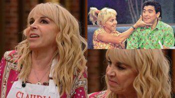 MasterChef: Claudia agradeció la ayuda de Maradona para llegar a la final y conmovió a todos