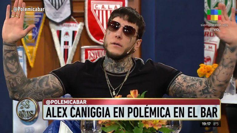 Echaron a Alex Caniggia de Polémica en el bar