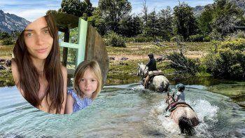 Con 5 años, la hija de Zaira Nara es una experta en cabalgatas en San Martín