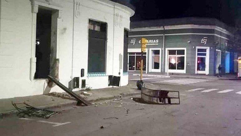 Atacaron con explosivos un local del Frente de Todos