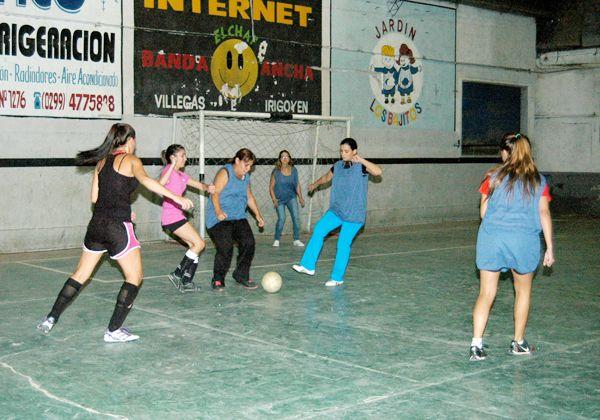 Fútbol 5 para mujeres en Círculo Italiano