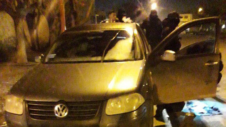 Conductor quiso escapar con marihuana en el barrio Don Bosco