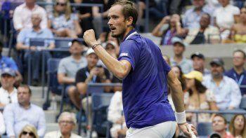 Nole dejaron hacer historia: Medveded ganó el US Open