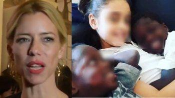 Nicole quiere adoptar a los nenes africanos abandonados