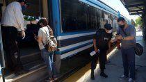 como es viajar en el tren del valle en pandemia