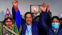 luis arce: bolivia ha recuperado la democracia