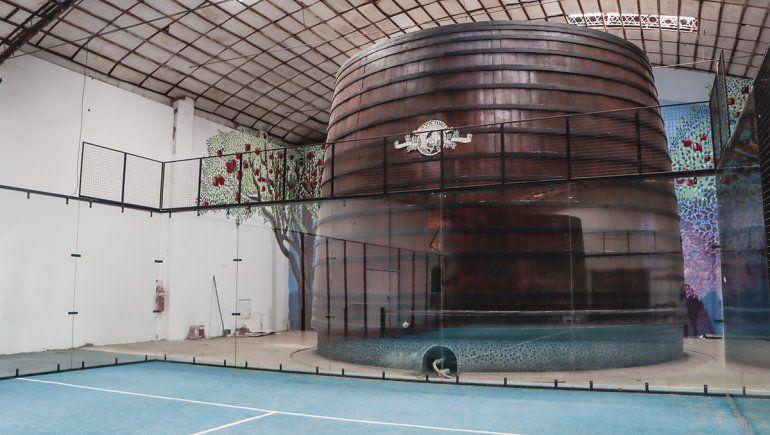 La cuba de madera más gran del mundo está en Cipolletti y es patrimonio de la ciudad.
