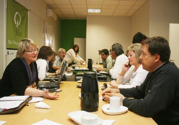 Reunión de la Federación de Productores con intendentes