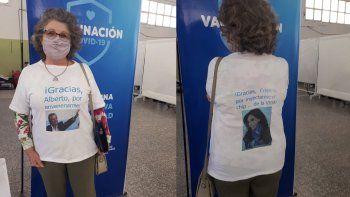 Haydeé Aguilar, la docente neuquina protagonista del mensaje viral.