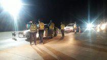 atraparon a 57 conductores borrachos durante el finde
