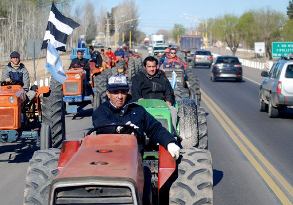 Tractorazo reflejó crisis terminal