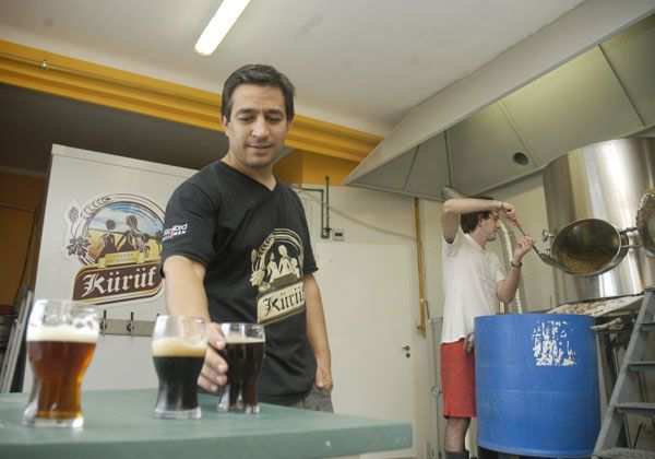 Kürüf, la cerveza artesanal de Cipolletti