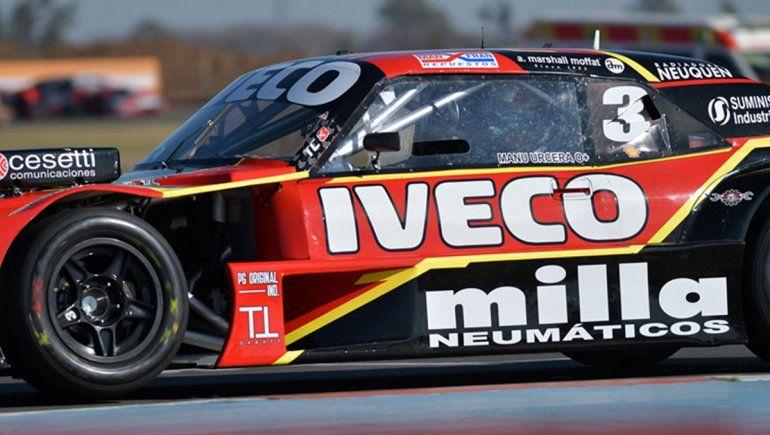 Manu Urcera finalizó sexto en la novena fecha del TC.