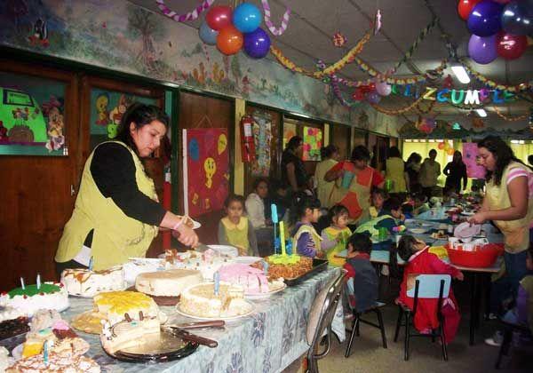Festejos múltiples en centro infantil