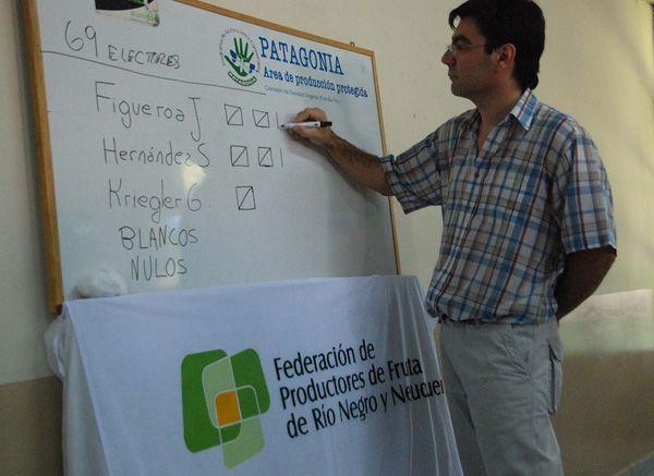 Jorge Figueroa presidirá la Federación de Productores