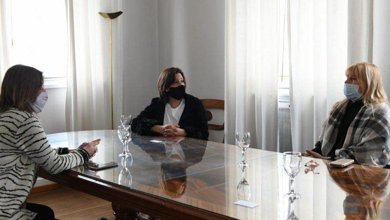 Villa Mascardi: cumbre entre Arabela Carreras y Nación