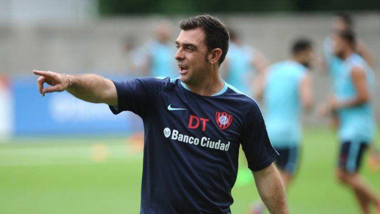 Pablo Guede recién llega