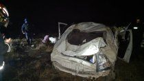 una familia cipolena sufrio un brutal vuelco camino a el cholar