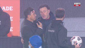 ¿Qué pasó entre Gallardo y Milito tras el empate?