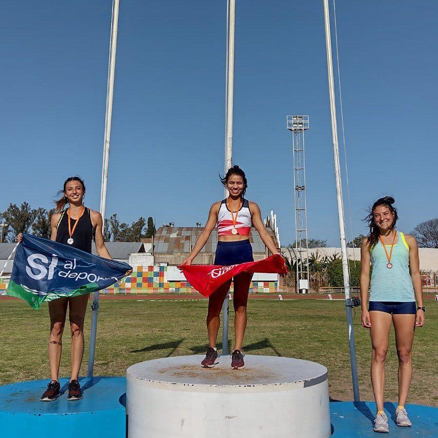 martina escudero es de oro: campeona nacional en los 400 metros